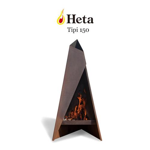 ファイヤープレイス TIPI150 焚き火 鉄と焔が織りなす薪火遊びの世界 キャンプ グランピング ベランピング おしゃれ 人気