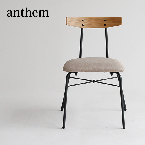 チェア イス 椅子 ダイニングチェア SALENEW大人気! デスクチェア スチール アームレス オフィス おしゃれ anthem Chair 人気 西海岸 在庫一掃売り切りセール インダストリアル ヴィンテージ調 アンティーク調 アンセム adap