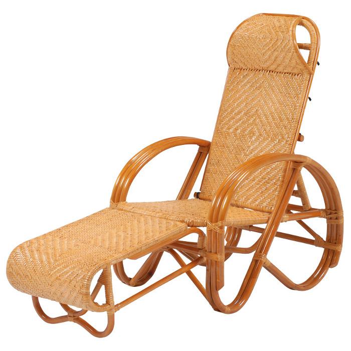 三ツ折椅子 ラタン座椅子 RTB-1382 【送料無料】