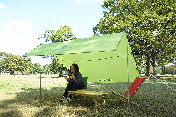 ツーリング用タープテント 幅2m×奥行2.5m テント タープ DUライト ツーリングタープTRT (astk)