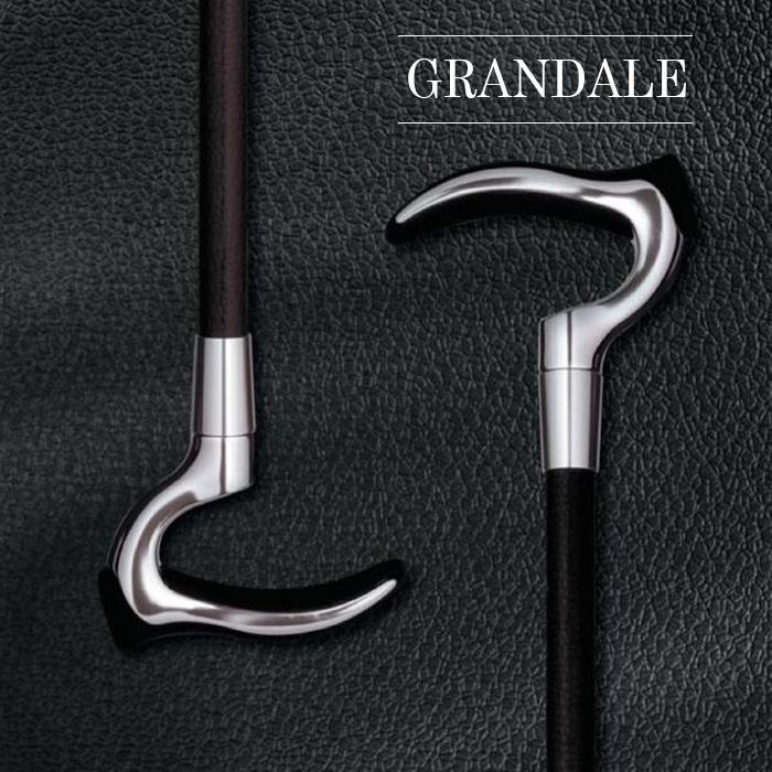 杖 伸縮 軽量 男性 グランデル おしゃれ 杖先ゴム ストラップ付き 母の日 父の日
