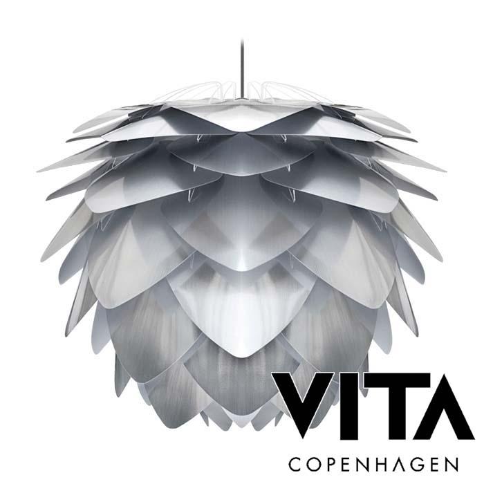 VITA Silvia steel ヴィータ シルヴィア スチール (1灯ペンダントライト/ブラックコード) elux エルックス 送料無料