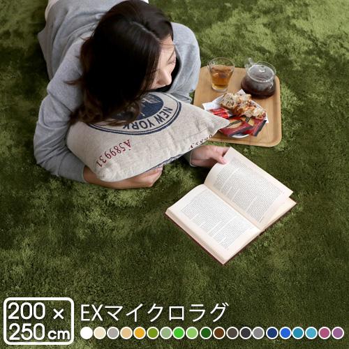 お気に入り 北欧 (MS300) ラグマット EXマイクロラグ 200×250cm (MS300) おしゃれ おしゃれ 200×250cm かわいい, ムカイシマチョウ:137a0da0 --- mail.gomotex.com.sg