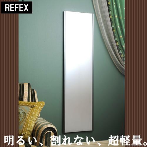 鏡 ミラー 全身 姿見 壁掛け スタンド 大型 吊式姿見 幅45×高さ120×厚さ2.15(cm) (ブラック・レッド・シルバー・ゴールド) 送料無料