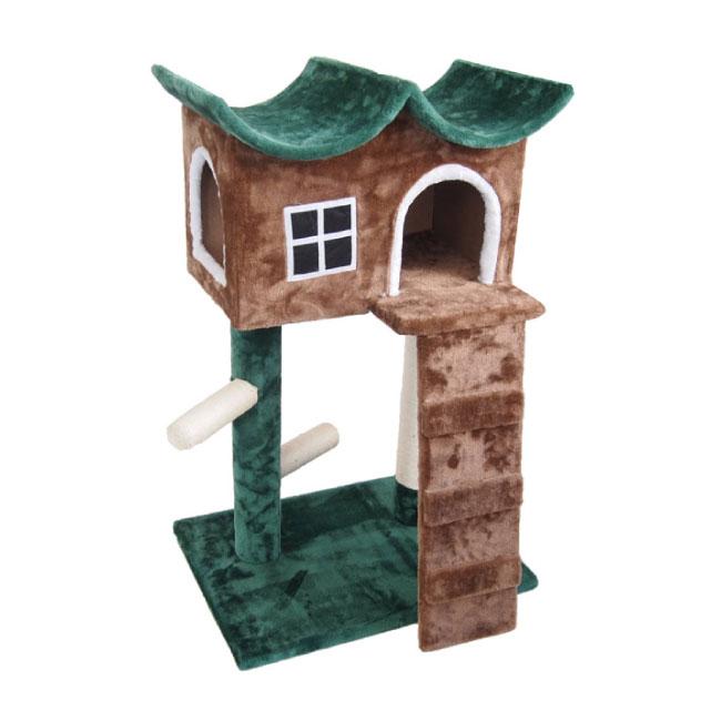 キャットハウス 緑の屋根 送料無料