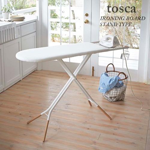 スタンド式アイロン台 トスカ(tosca) ホワイト  【送料無料】