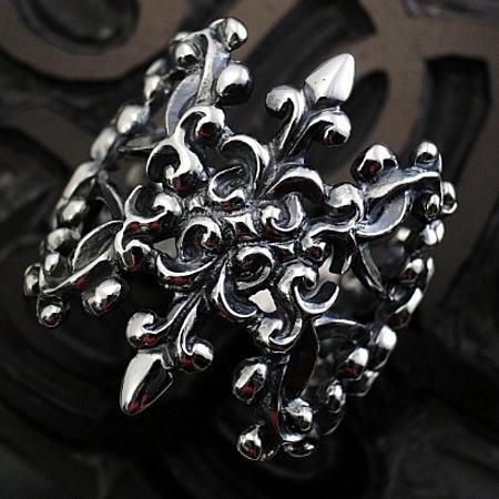 唐草リング リング メンズリング ゴシックリング オリジナルリング サイズ11~30号 ハンドメイド 日本製 ブランド DaDa silver worksauktn送料無料N80wvmn