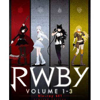 【中古】[Blu-ray] RWBY VOLUME 1-3 Blu-ray SET 初回仕様版 [1000652856][併売:0PML]【赤道店】