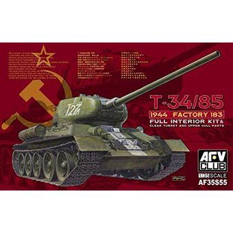 【中古】 AFVクラブ 1/35 T-34/85 1944 FACTORY 183 プラモデル [併売:0M69]【赤道店】