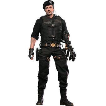 【中古】 Hot Toys Barney Ross (The Expendables 2)[左手首のジョイント1個破損(予備有り)、取扱説明書欠品] [併売:0MKL]【赤道店】