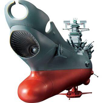 輸入 ネコポス対応不可 中古 バンダイ 超合金魂 GX-57 宇宙戦艦ヤマト ストア 箱少しダメージあり 併売:0UV0 赤道店 初回特典 ドリルミサイル 付き