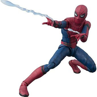 【中古】【未開封】S.H.フィギュアーツ スパイダーマン (スパイダーマン:ファー・フロム・ホーム) 約150mm ABS&PVC製 塗装済み可動フィギュア [併売:0QCS]【赤道店】