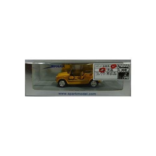 【中古】SPARK 1/43 Fiat 500 Jolly イエロー[併売:0QM6]【赤道店】