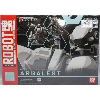【中古】ROBOT魂[SIDE AS]ARX-7 アーバレスト(M9カラー)+武器セット[箱小ダメージ][併売:0OU4]【赤道店】