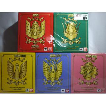【中古】【未開封】 聖闘士聖衣神話 初期青銅聖衣 LIMITED GOLD 全5種セット[併売:0P1T]【赤道店】