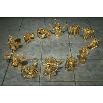 【中古】【未開封】 聖闘士聖衣神話 APPENDIX 黄金聖衣 オブジェセット [併売:0P0O]【赤道店】