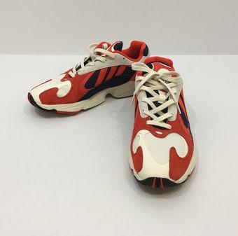 【中古】【adidas/アディダス】yung-1(B37615)[表記サイズ:29.5cm(11.5)/オレンジ/NAVY/メンズ]【併売:0013】【上越店】