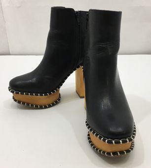 【中古】【MOUSSY/マウジー】ブーツ[表記サイズ:S/BLACK/レディース]【併売:003Q】【上越店】