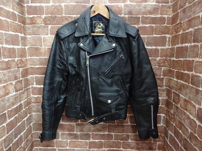 【中古品】666 / Leather Jacket レザージャケット 旧タグ【表記サイズ:34】【送料無料】【沼津店】[併売:00807]