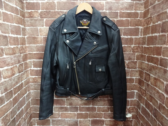 【中古品】Harley-Davidson / ハーレーダビッドソン レザージャケット【サイズ:M】【送料無料】【沼津店】[併売:00163]