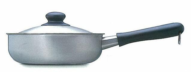 【送料無料】柳宗理ステンレス・アルミ3層鋼シリーズ片手鍋 22cmつや消し IH対応