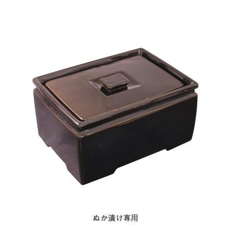 【送料無料】長谷園 つけもの名人 (角型) NNC-25【長谷製陶】