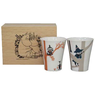 Moomin crates into perjury Cup set MM850-22H