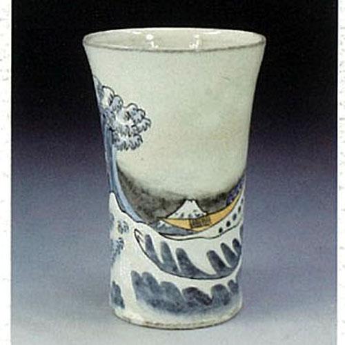 【送料無料】旨い酒を愉しむ富士(波裏) ビアカップ