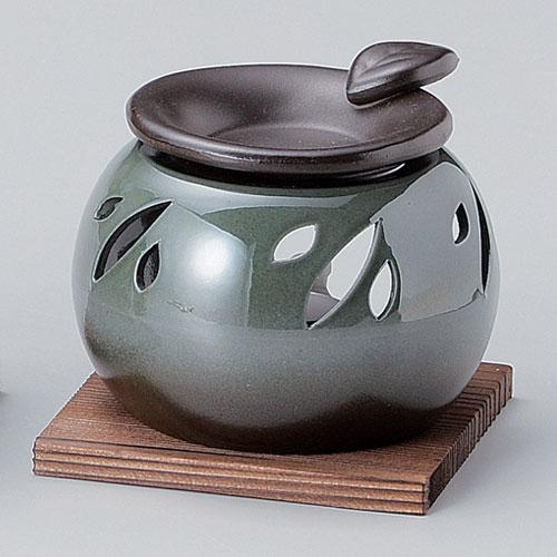 茶葉の香りでリフレッシュ 超人気 専門店 消臭 出色 送料無料 茶香炉 L-1606 常滑焼