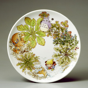 Noritake Totoro ( Special Collection ) 23 cm plate covering lightens a bag chapter bone China
