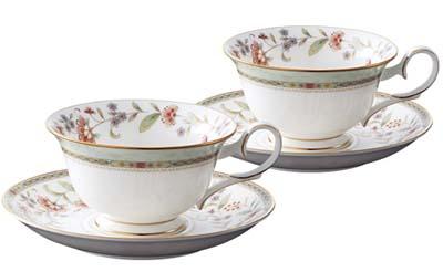 【送料無料】Noritake(ノリタケ) プリムローズティー・コーヒー碗皿ペアセット P50717A/4909