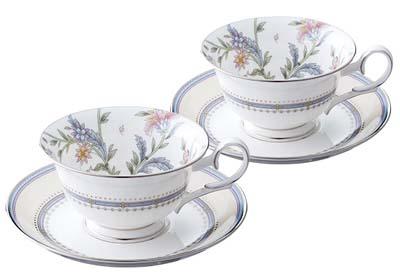 【送料無料】Noritake(ノリタケ) ジャルダンフルーリティー・コーヒー碗皿ペアセット P50717A/4910