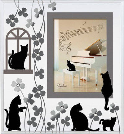 YUMETOBO: Dear cats cat repair frames (small) G-3144BK | Rakuten ...