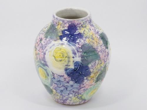 【送料無料】ゆずりは 花瓶 ゆ-1414