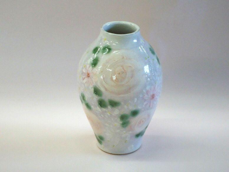 【送料無料】ゆずりは 花瓶 ゆ-7