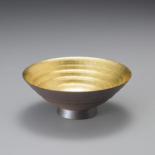 【送料無料】箔一本金箔 水月 盃A171-03032
