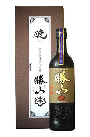送料無料 25%OFF 日本酒 おしゃれ 勝山 720ml 純米大吟醸 暁