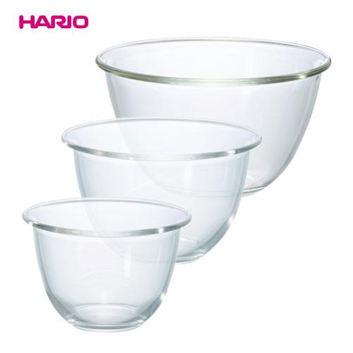 プレゼント 予約販売 HARIO ハリオ MXPN-3704 耐熱ガラス製ボウル3個セット
