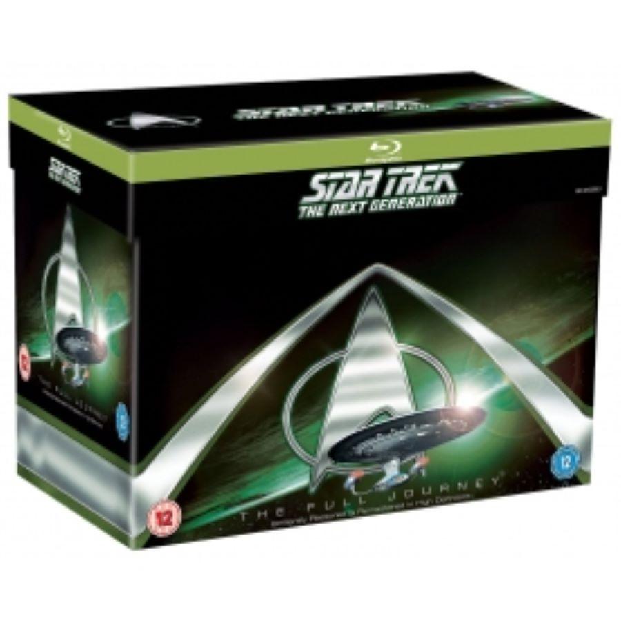 送料無料 Star Trek The Next Generation Complete Seasons 1-7 Blu-ray 輸入盤
