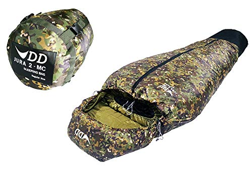 DDハンモック 寝袋 DD Jura 2 Sleeping Bag スリーピングバッグ DDHammocks 寝袋 保温 防寒 迷彩 カモフラージュ マルチカム MC 送料無料