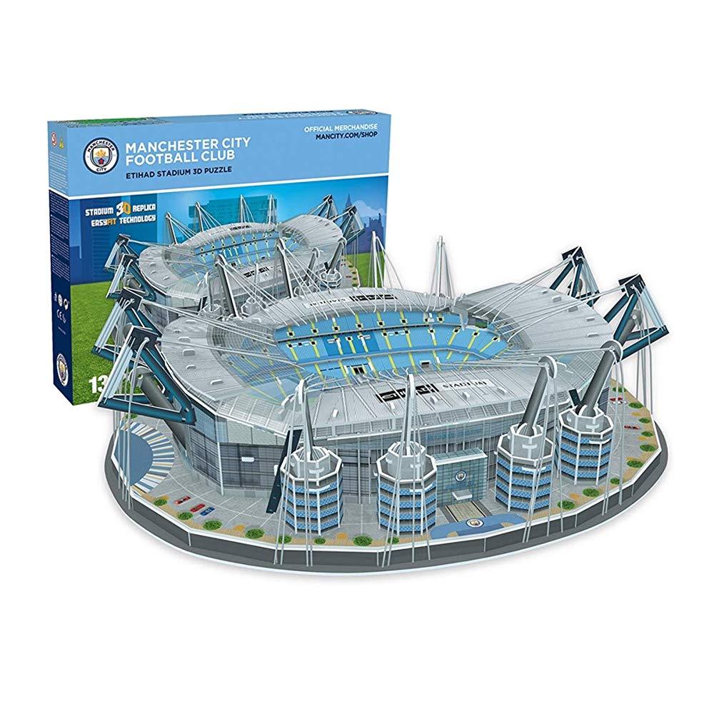 Nanostad ナノスタッド Manchester City マンチェスターシティ スタジアム エティハド・スタジアム 3D パズル 3885 並行輸入品 送料無料