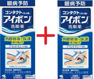 第3類医薬品 待望 アイボンd 500mL×2本 4987072032893-2 洗眼薬 アレルギー 花粉 開催中 ハウスダスト