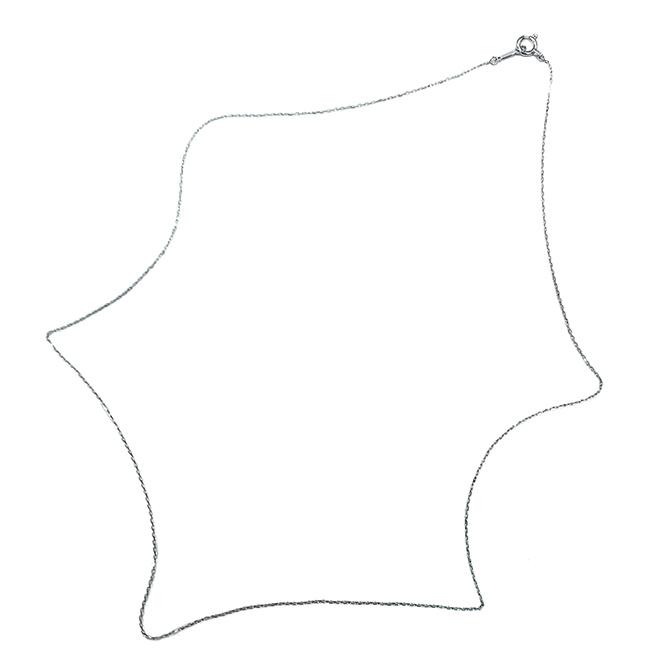 クスリエ ネックレス用チェーン/Pt(プラチナ)0.2mm