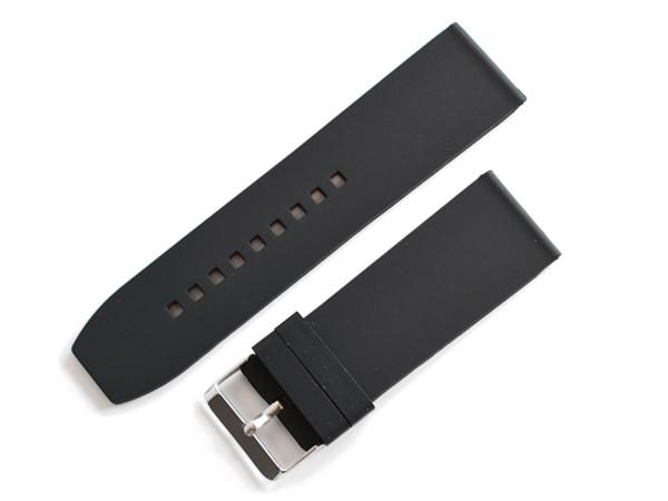 「ブルガリ(BVLGARI)向け」輸入王オリジナル ラバー ベルト アショーマ AA48/AA44/AA39用 社外品 メンズ 腕時計