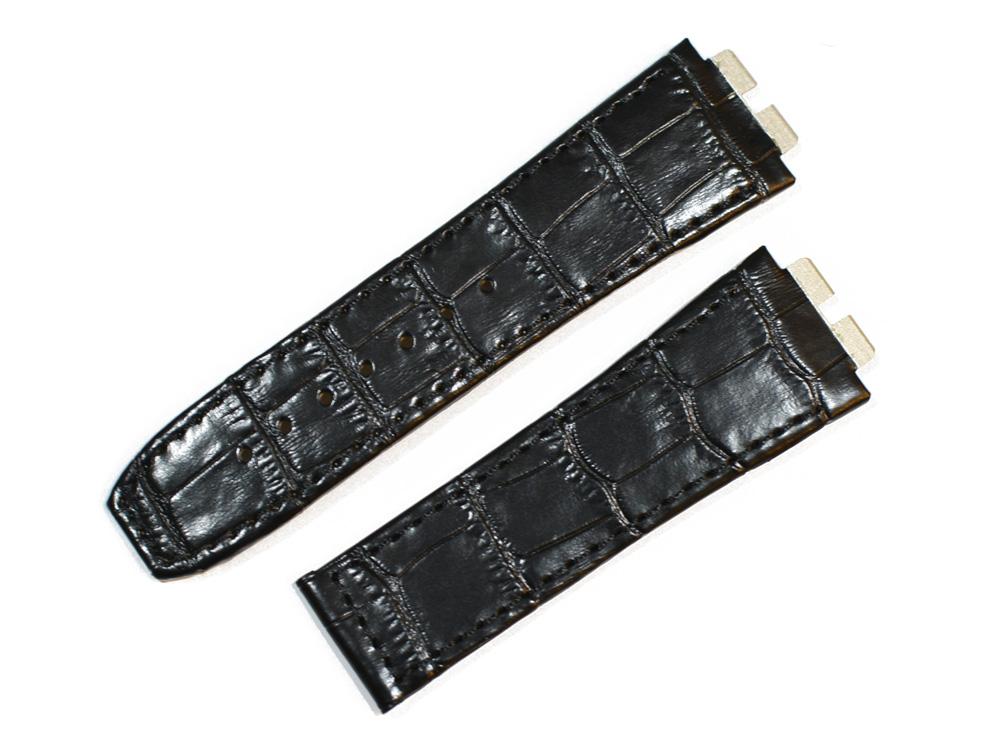 ウニコ向けに制作された輸入王オリジナルの時計ベルト ウブロ Hublot 向け 輸入王オリジナル ビッグバン ウニコ 型押しクロコ メンズ 45mmケース 401用 腕時計用 ベルト マーケティング 安心の定価販売 社外品