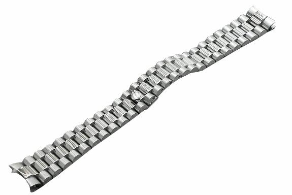 「ロレックス(ROLEX)向け」輸入王オリジナル デイデイト 用 プレジデント ブレス ツヤあり メンズ 腕時計用 社外品