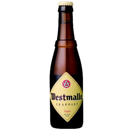 2020新作 敬老の日 誕生日 ギフト 業務用にも最適 ビール ウエストマール トリプル 330ml マーケット ベルギー CA 21-2 複数本ラッピング 熨斗不可 beer 75476