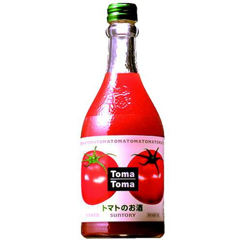 お中元 御中元 誕生日 ギフト 業務用にも最適 リキュール 格安激安 サントリー 高級な 500ml トマトのお酒 30111 トマトマ 24-4 カクテル liqueur