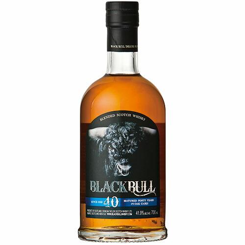 ウイスキー ダンカンテイラー ブラックブル 40年 バッチ5 41.5度 700ml (77825) 洋酒 Whisky(89-0)