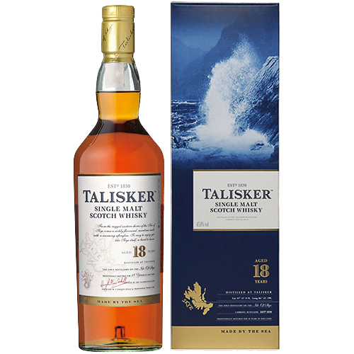 誕生日 ギフト 業務用にも最適 ウイスキー タリスカー 18年 現金特価 Whisky 79594 700ml 洋酒 35-3 入手困難
